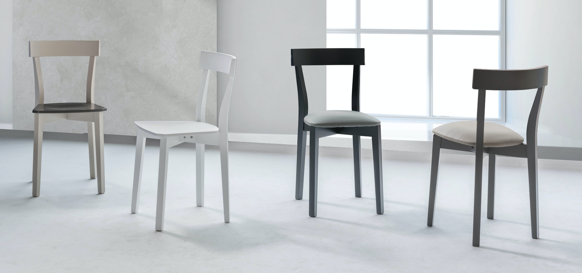Chairs Stosa - Model Camelia 10065