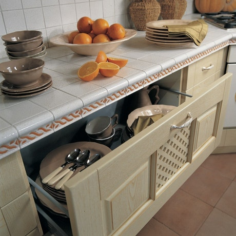 Stosa Ginevra: classic kitchen cabinets and furniture ...