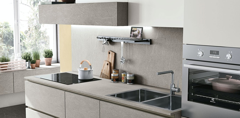 Stosa Alevé: modern kitchen cabinets and furniture | Stosa ...